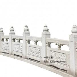 右江石栏杆精品石栏杆定制图片