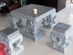 石桌石凳价格说明–好看的花岗岩青石石桌图片大全